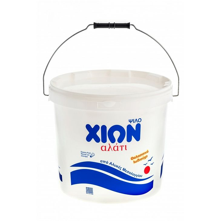 CHION fine salt Bucket 12.5 kg