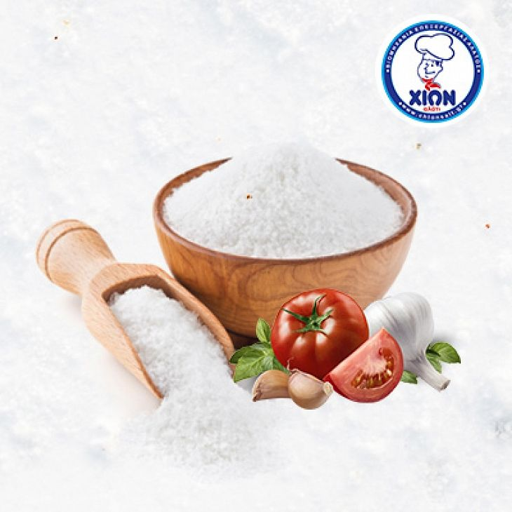 CHION Raw Sea Salt 25kg.